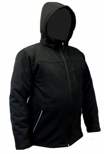 MAX WINTER ocieplany softshell z kapturem